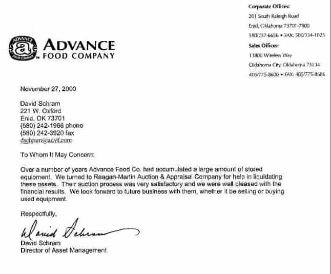Appraisal Letter 41