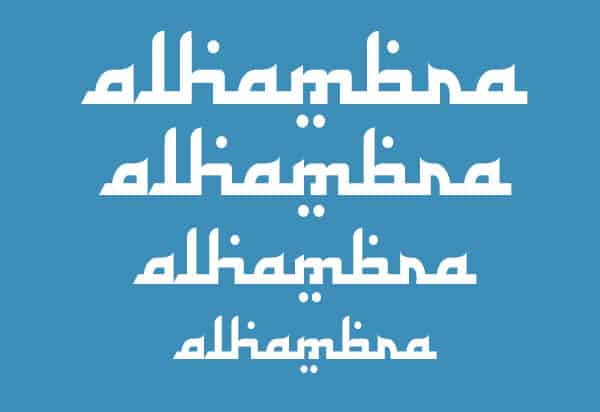 Arabic Calligraphy Fonts 34761