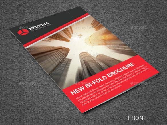Bi Fold Brochure Templates  164