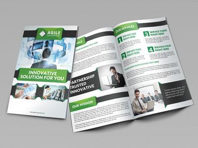Bi Fold Brochure Templates  7461