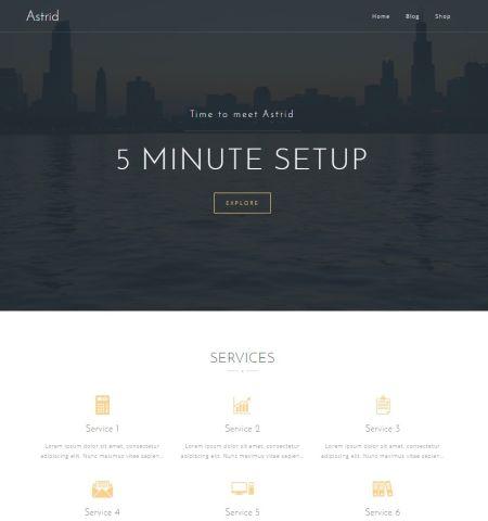 Bootstrap Blog Templates 10