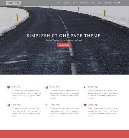 Bootstrap Blog Templates 74