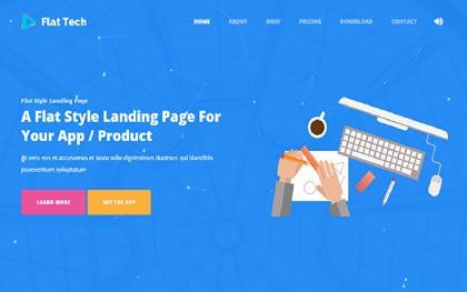 Free Landing Page Templates 264