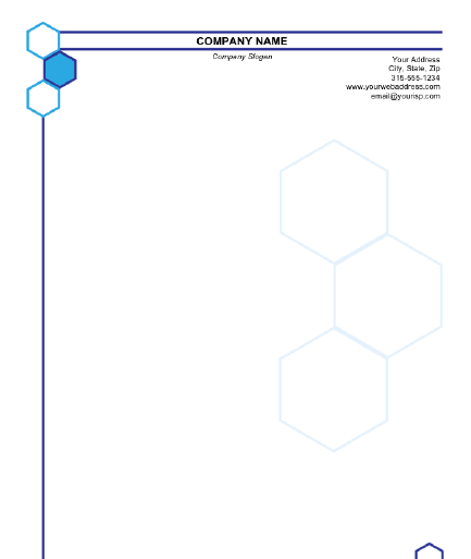 Letterhead Format In Word 2641
