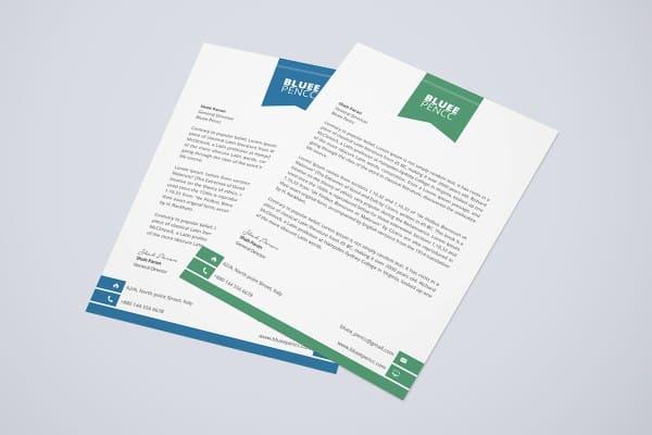 Letterhead Format In Word 341