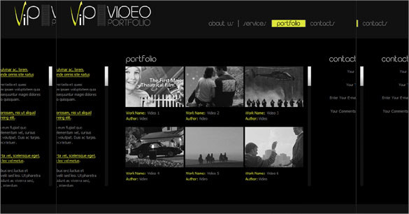 Video Website Templates Free 11