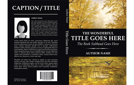 book cover template  741