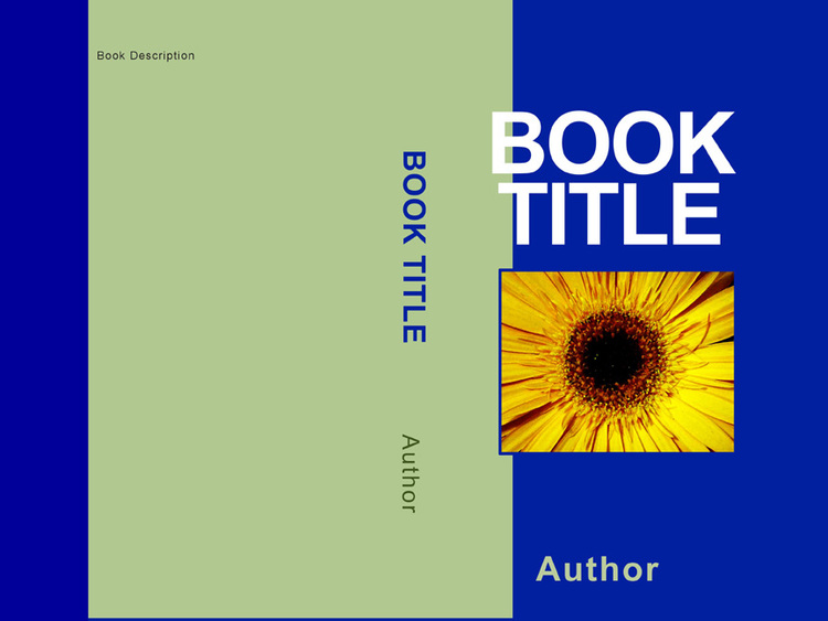 book cover template  841