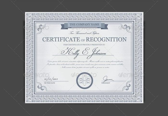 certificate format 13.4