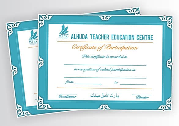 certificate format 5641