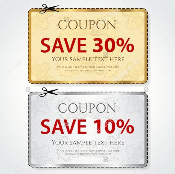 coupon template 12