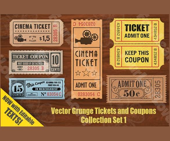 coupon template 941