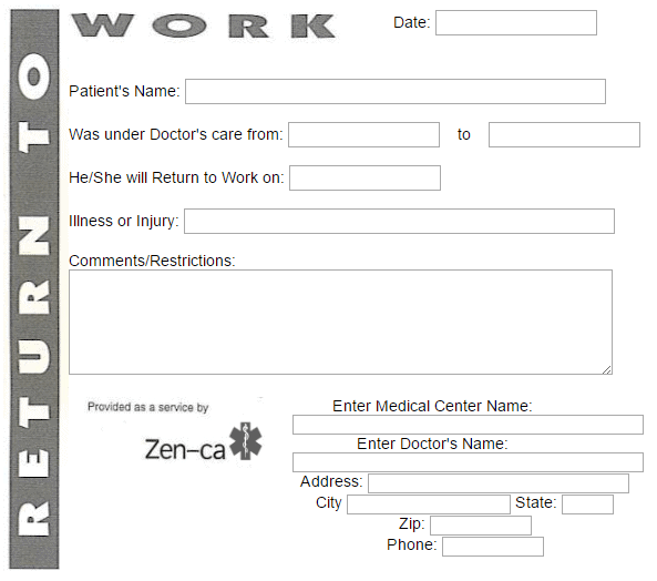doctors note template 12