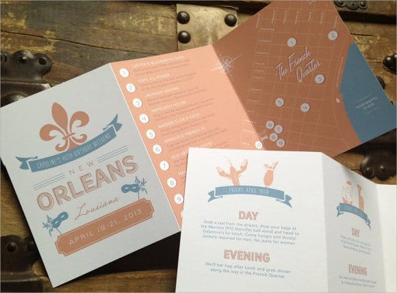 event itinerary template 161