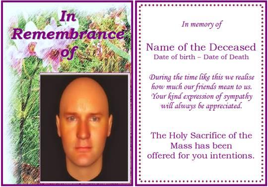 funeral program template 74