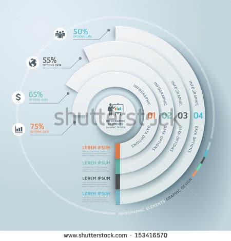 infographics psd 261