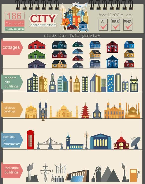 infographics psd 41