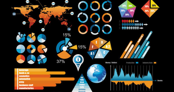 infographics psd 941