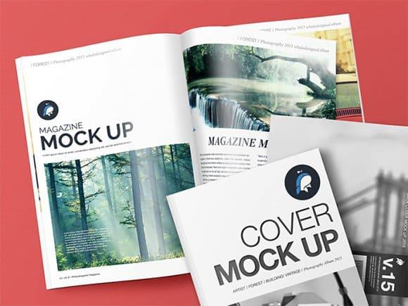magzine cover template 34