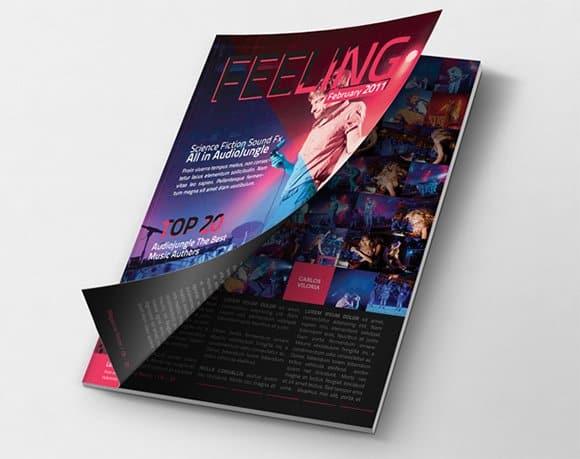 magzine cover template 541