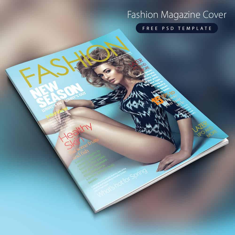 magzine cover template 941