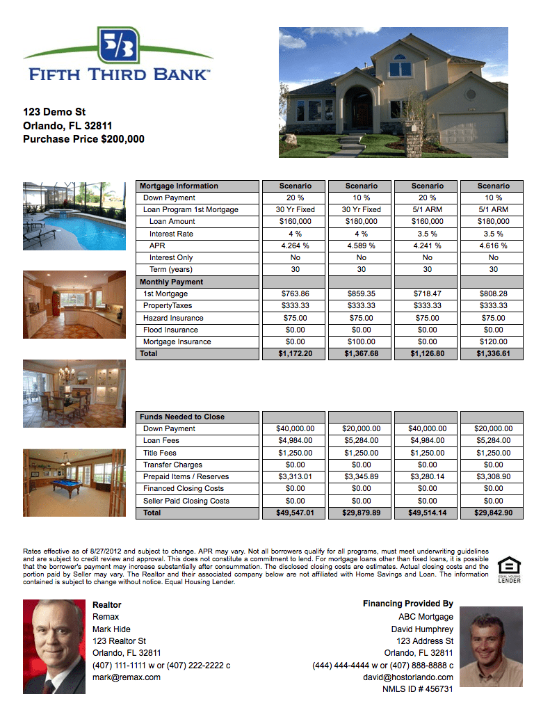 open house flyer 8541