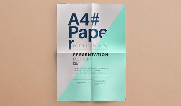 paper mockup 8941