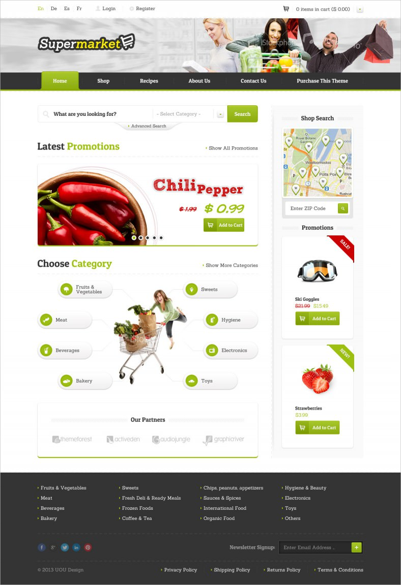 Free HTML eCommerce Templates for Online Stores