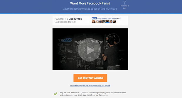 Video Landing Page Templates 1964