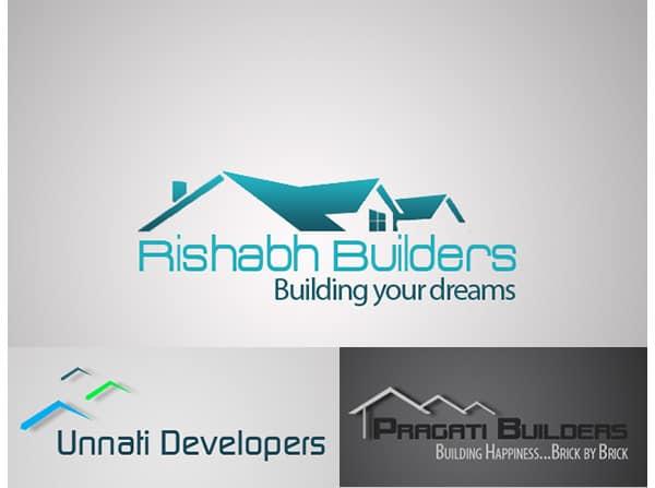 builder logo design 1655