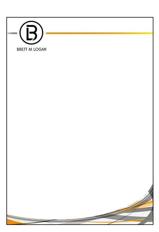 6  free business letterhead templates for word