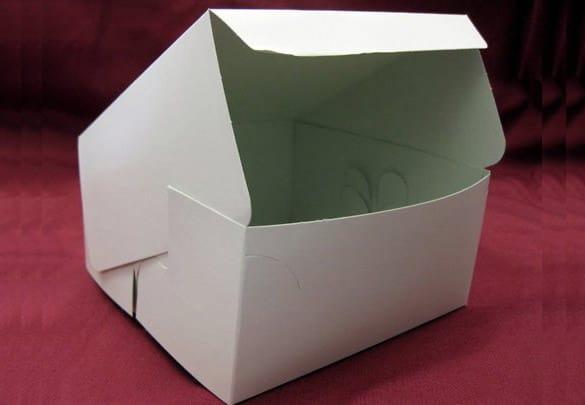 cake box template 794