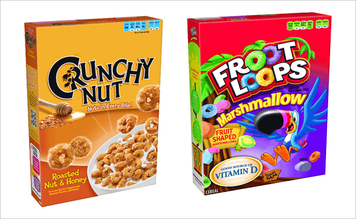 cereal box template 7941