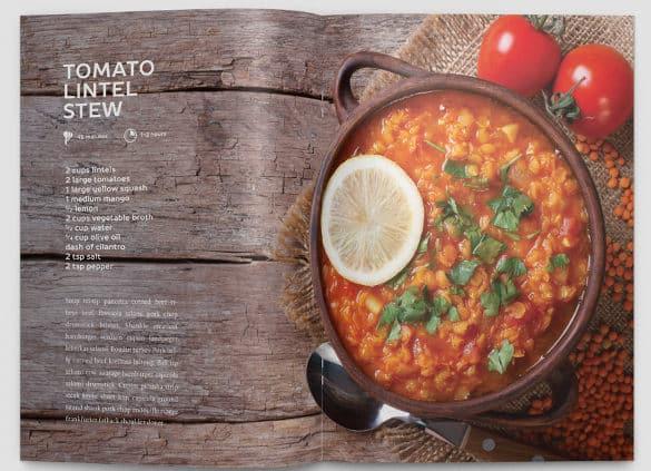 cookbook template 264