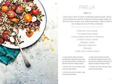 cookbook template 561
