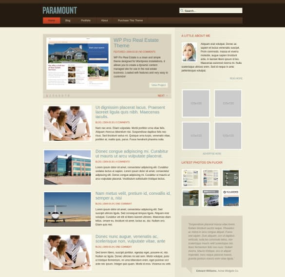 dynamic website template 146