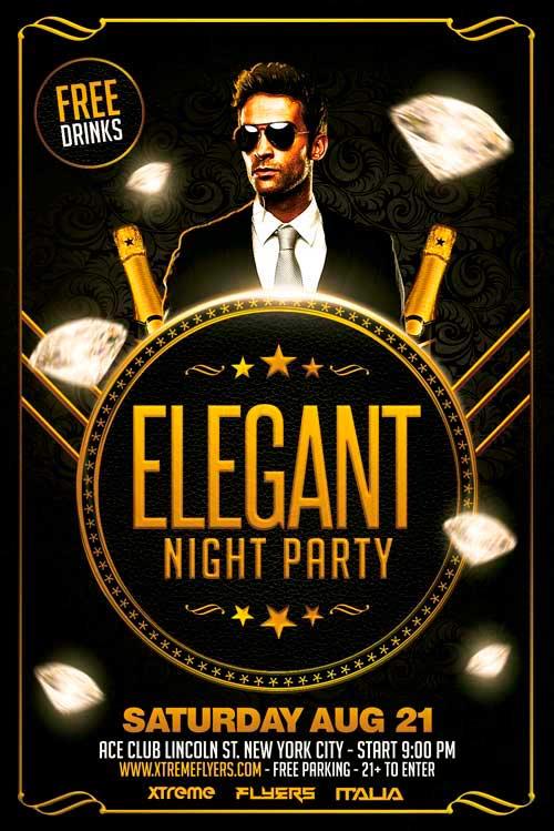 elegant flyer 141