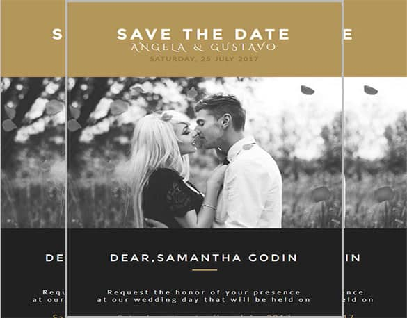 email invitation template 54