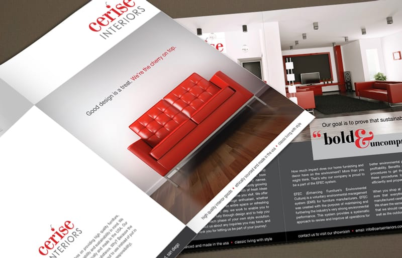 6  interior design brochures