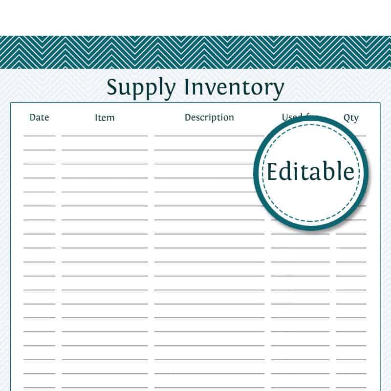 inventory list 8