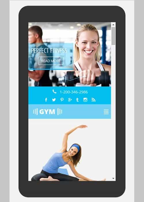 mobile app html5 templates 4+