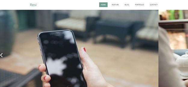 mobile app html5 templates 941