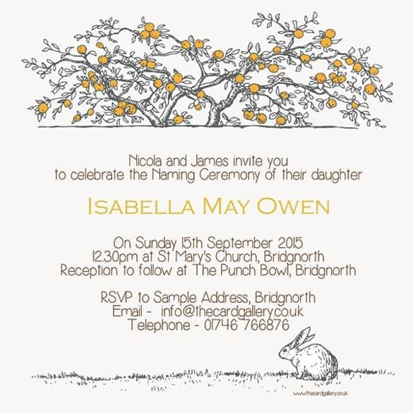 naming ceremony invitation 26