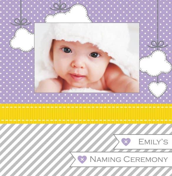 naming ceremony invitation 94