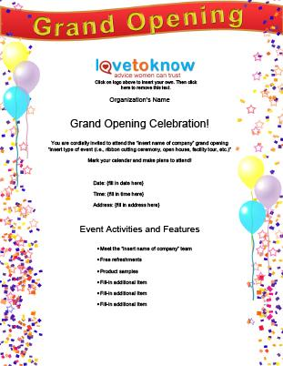 opening flyer 330