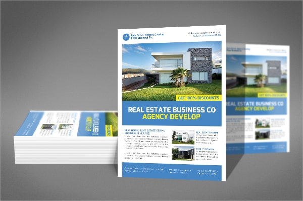 real estate flyer template 110