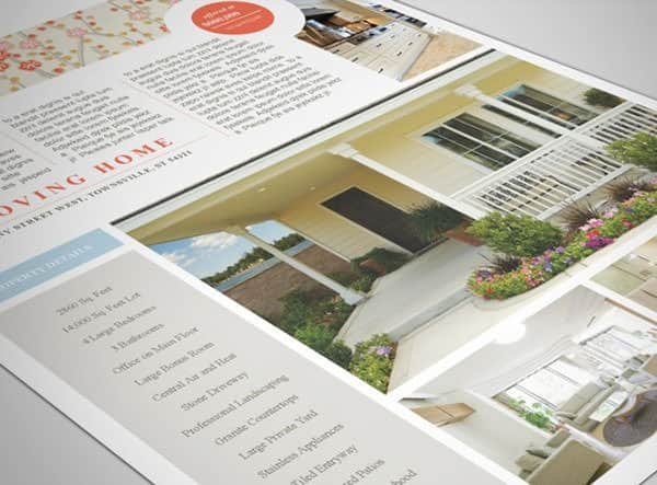 real estate flyer template 550