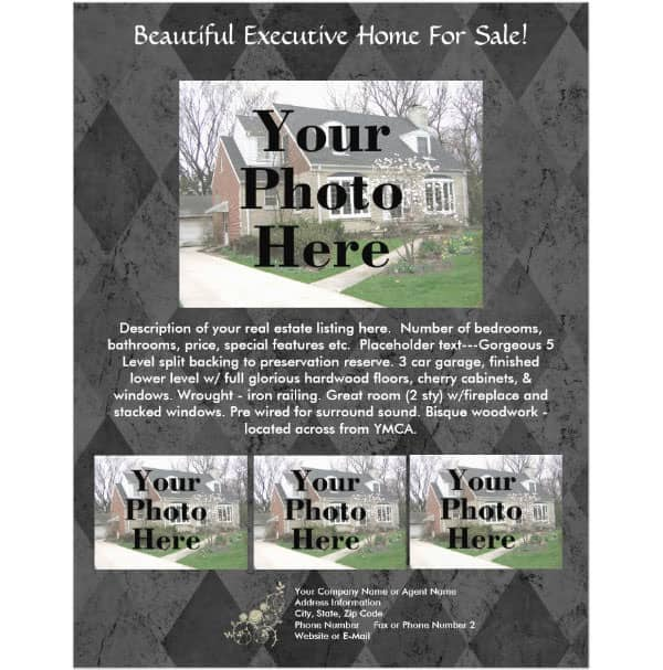 real estate flyer template 660