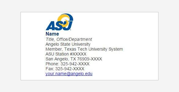 student email signature 46
