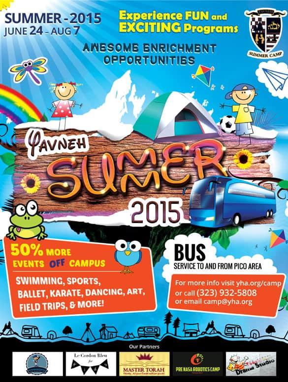 summer camp flyer template 440